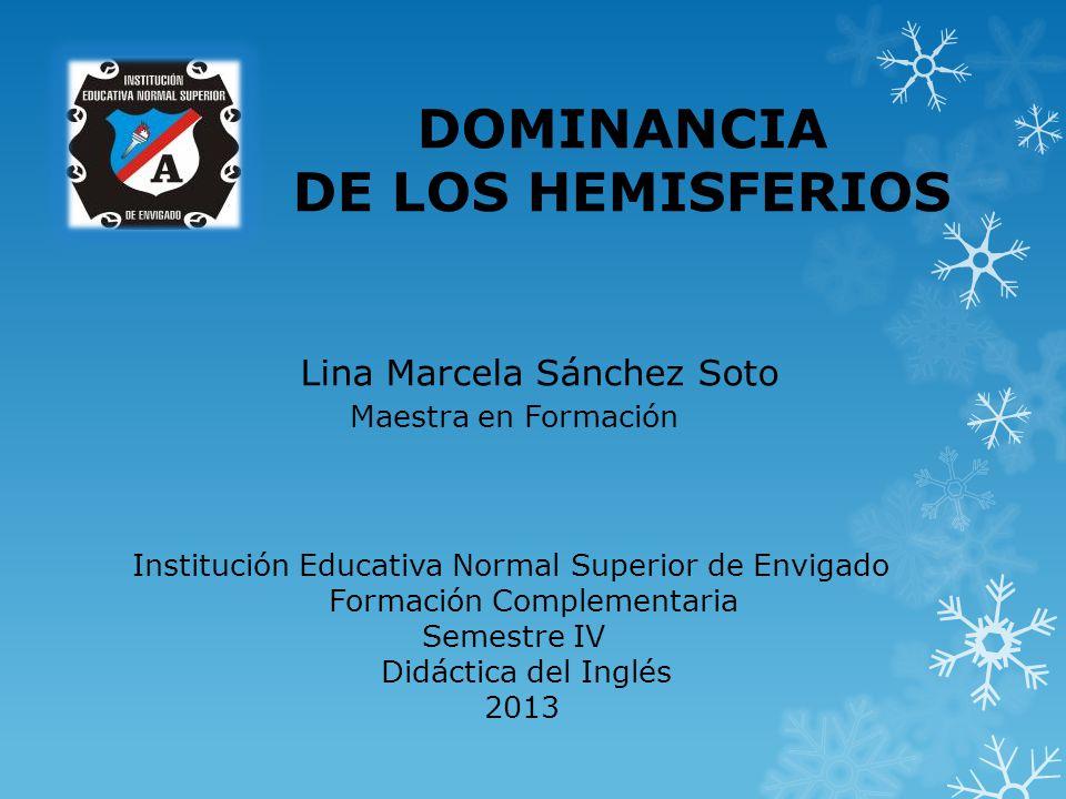 Institución Educativa Normal Superior de Envigado Formación Complementaria Semestre IV Didáctica del Inglés 2013 Lina Marcela Sánchez Soto Maestra en