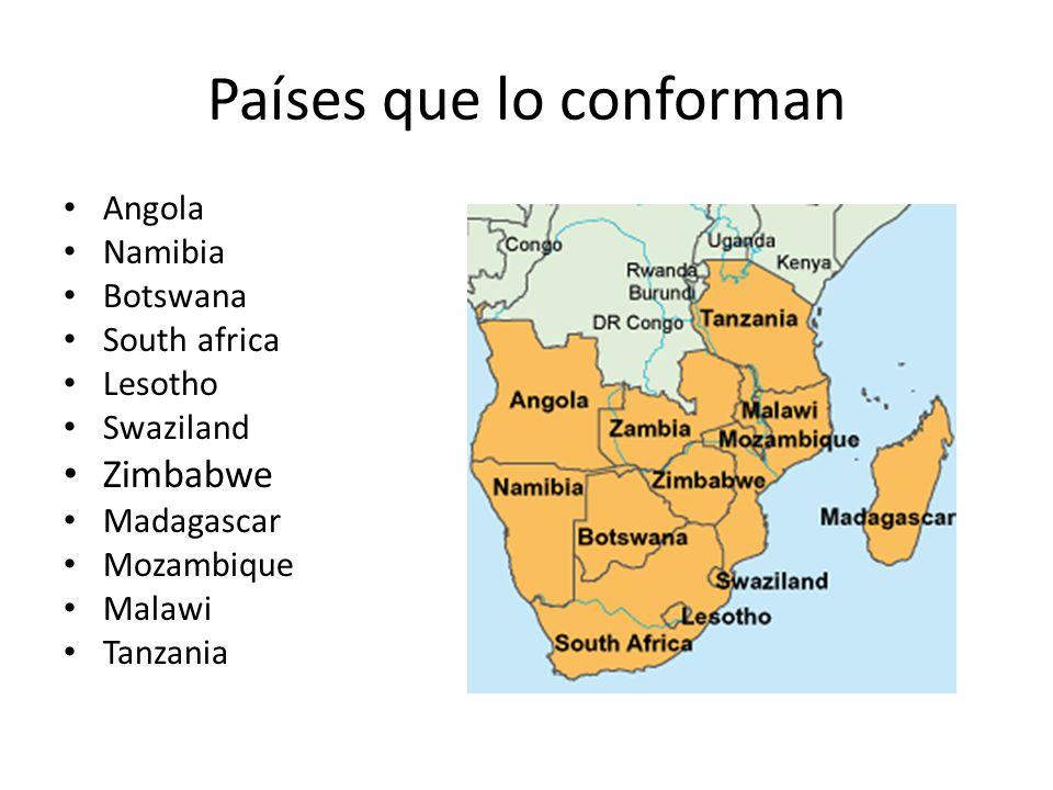 Población El continente africano tiene una población de 780 millones de habitantes.