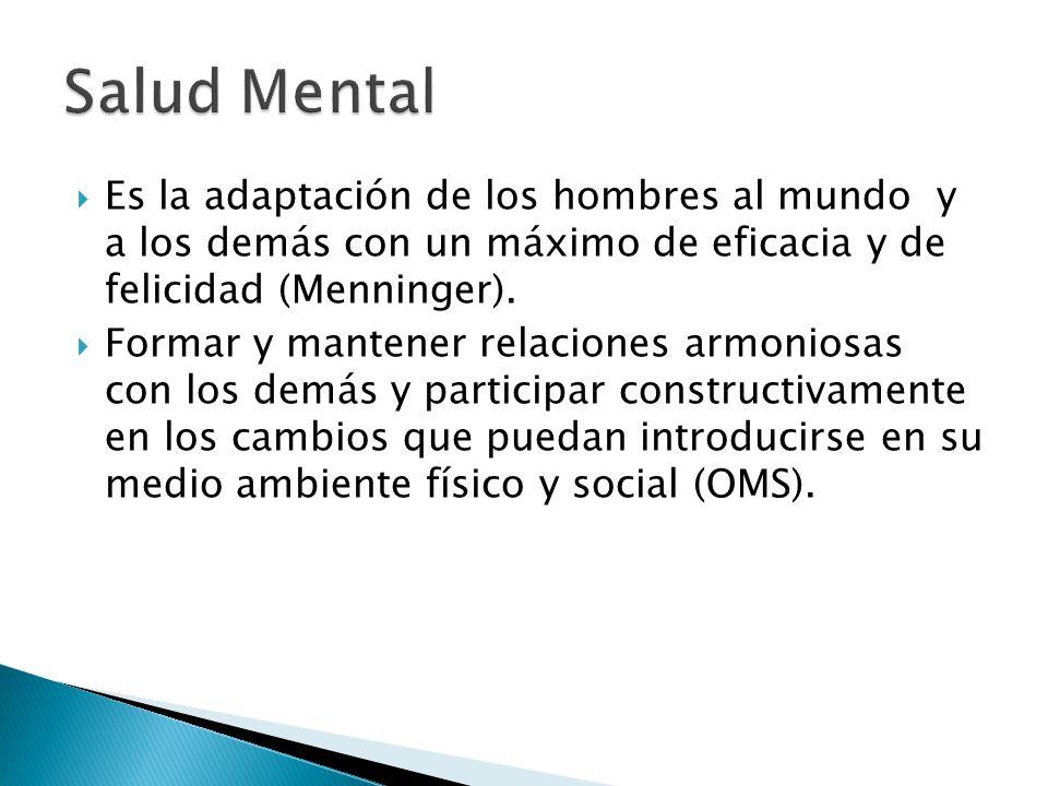 La Psiquiatría es la rama de la medicina que estudia los trastornos mentales y su tratamiento.