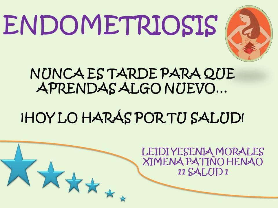 NUESTRO OBJETIVO Dar a conocer posibles causas y tratamientos para la endometriosis para lograr una vida mas saludable.