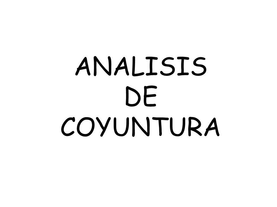 DEFINICIÓN: El análisis de la coyuntura es una mezcla de conocimientos y descubrimientos, es una lectura especial de la realidad y que se hace siempre en función de alguna necesidad o interés.