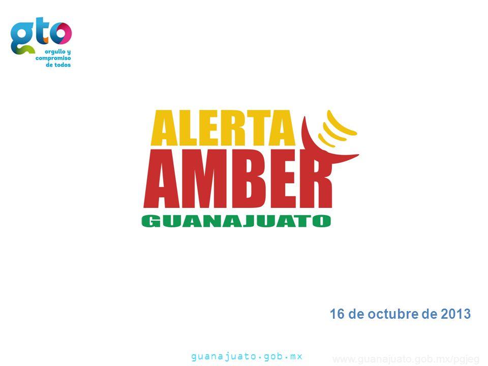guanajuato.gob.mx www.guanajuato.gob.mx/pgjeg No todos los casos de desaparición de menores son casos que ameritan activar la Alerta AMBER.