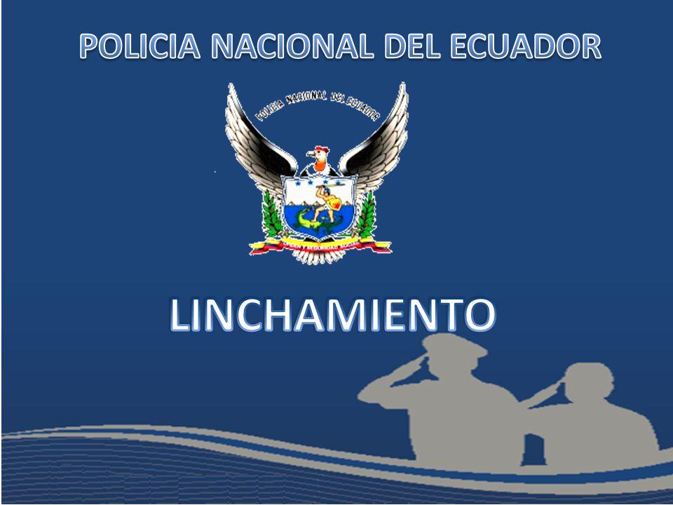 Procedimiento Policial El personal policial en los respectivos puestos de control deberán estar atentos a la reacción que vaya a tener la comunidad.