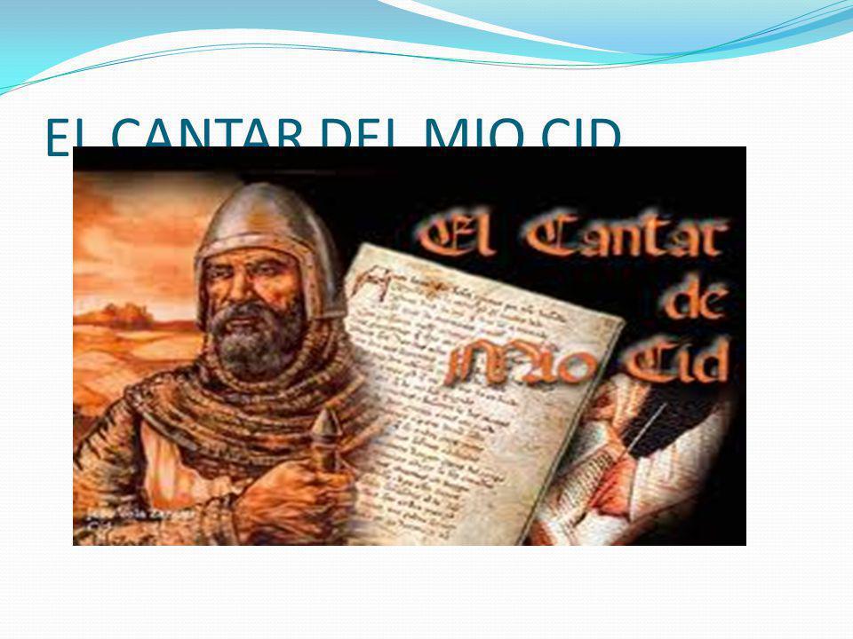 EL CANTAR DEL MIO CID