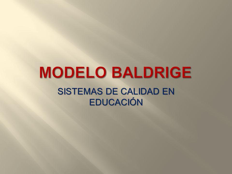SISTEMAS DE CALIDAD EN EDUCACIÓN