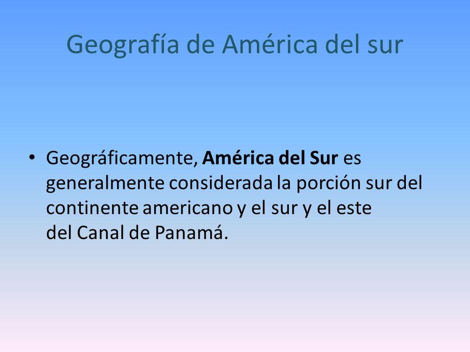 América del sur Hecho por Sofía valencia y valentina Aristizabal