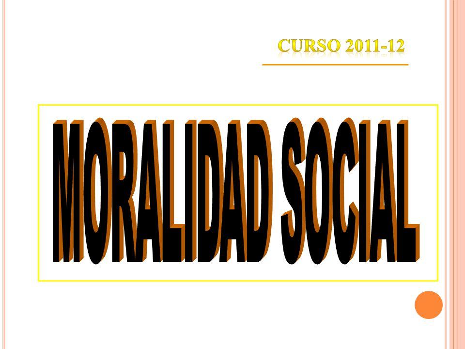 ASIGNATURAASIGNATURA DESARROLLO SOCIAL, MORAL Y SEXUAL 2011/2012