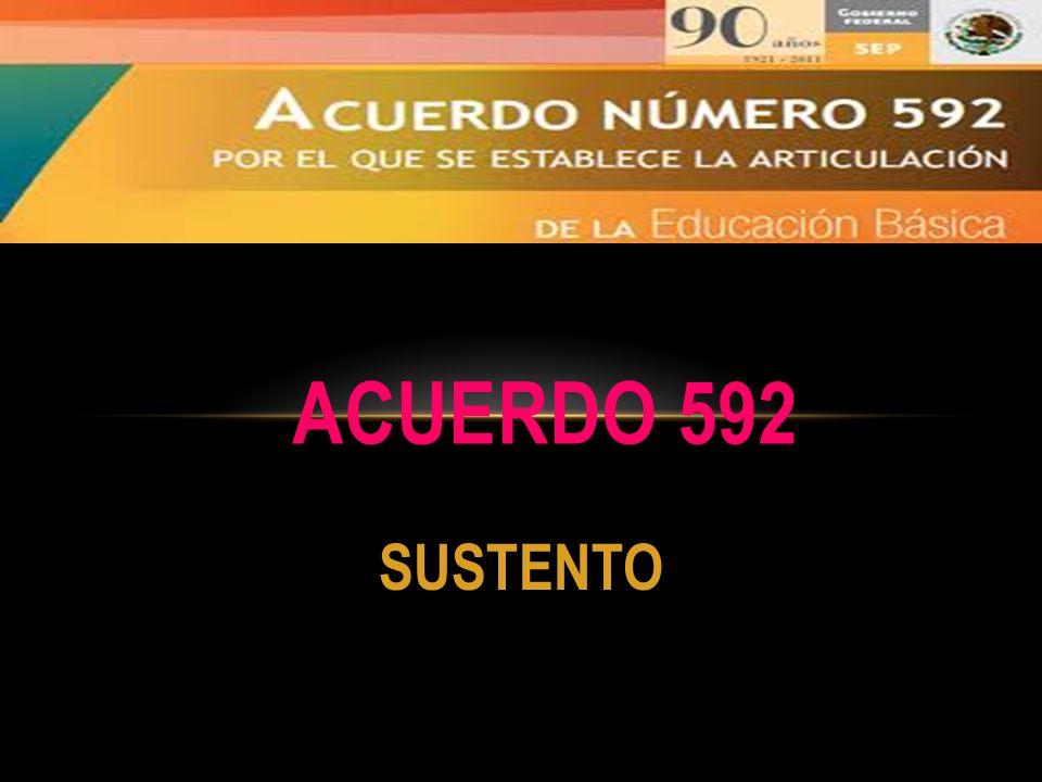 SUSTENTO ACUERDO 592