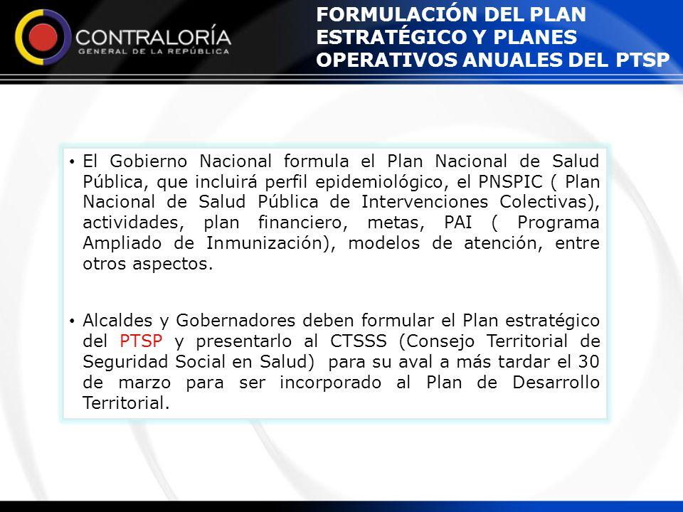 El Gobierno Nacional formula el Plan Nacional de Salud Pública, que incluirá perfil epidemiológico, el PNSPIC ( Plan Nacional de Salud Pública de Inte
