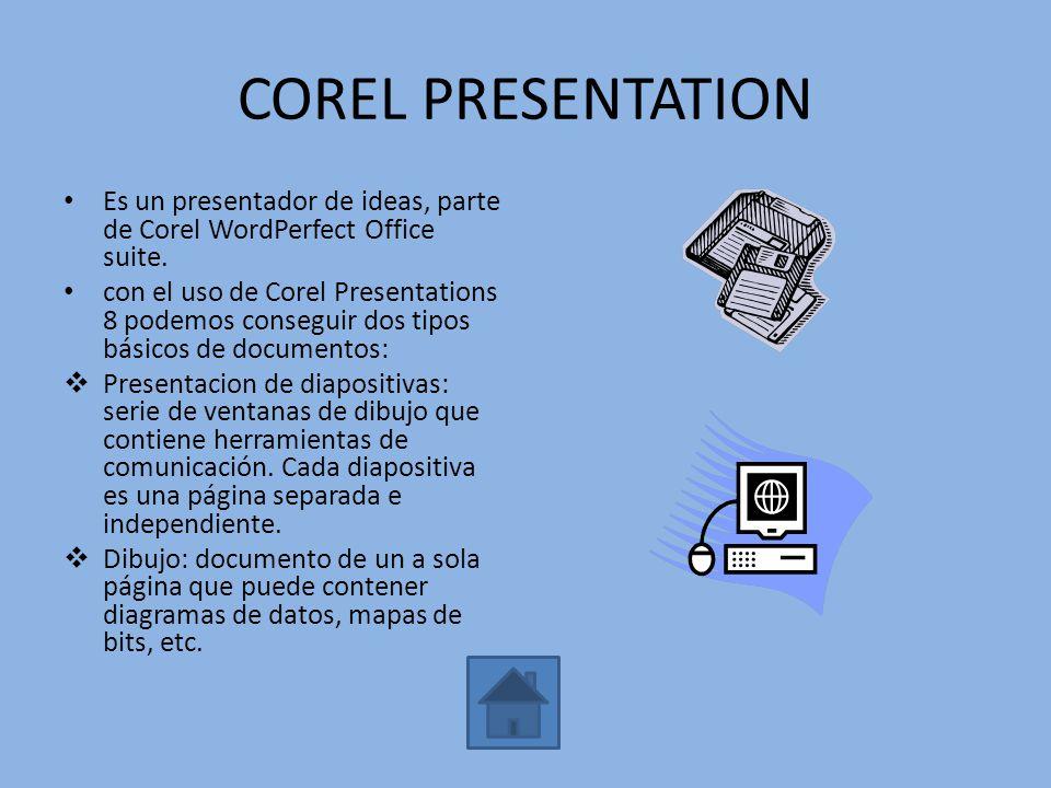 KPRESENTER Es una aplicación destinada a crear dispositivas, transparencias, etc.