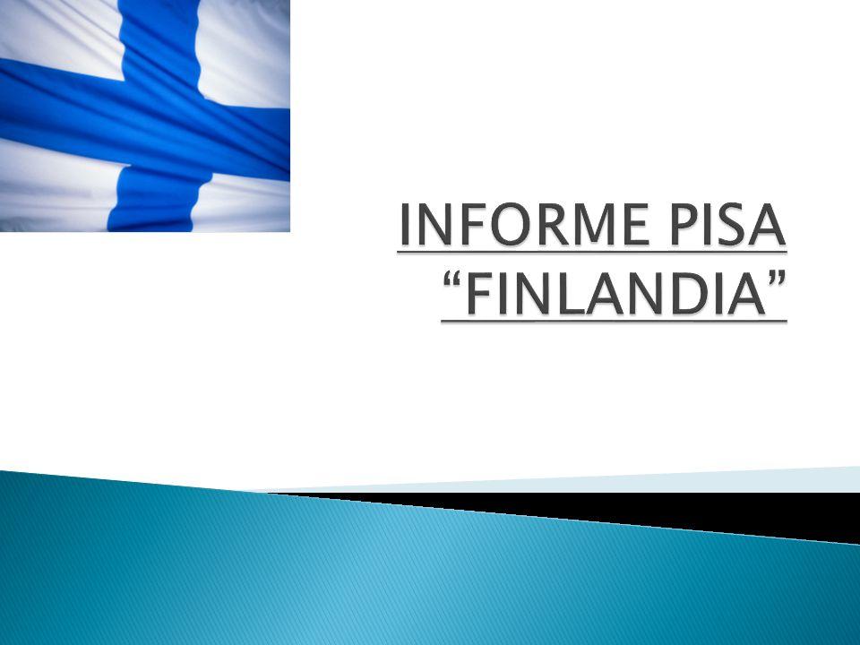 Finlandia.Finlandia y observaciones del informe Pisa.