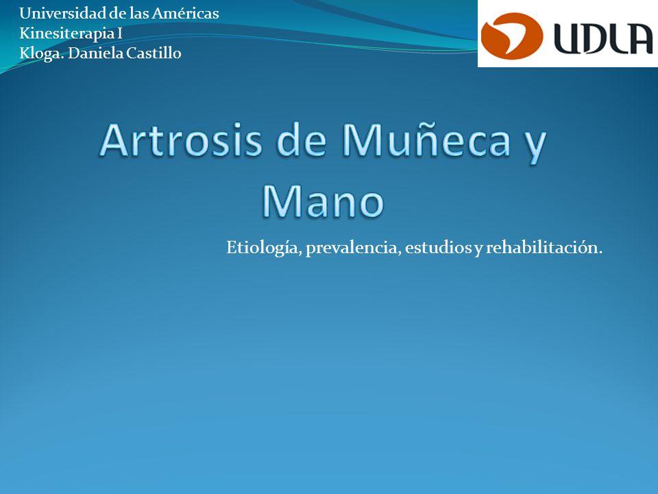 Introducción La artrosis (OA) es una enfermedad degenerativa que se produce al alterarse las propiedades mecánicas del cartílago y del hueso subcondral.