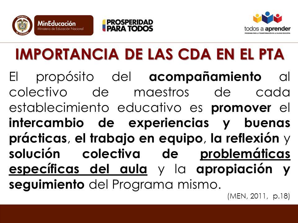 Características de una CDA efectiva Está basada en el aprendizaje dialógico y en una educación participativa de la comunidad en todos los espacios, incluida el aula.