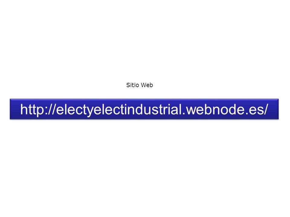 http://electyelectindustrial.webnode.es/ Sitio Web