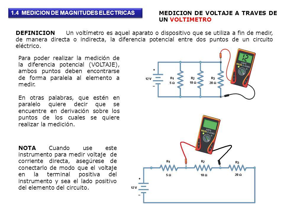 DEFINICION Un voltímetro es aquel aparato o dispositivo que se utiliza a fin de medir, de manera directa o indirecta, la diferencia potencial entre do