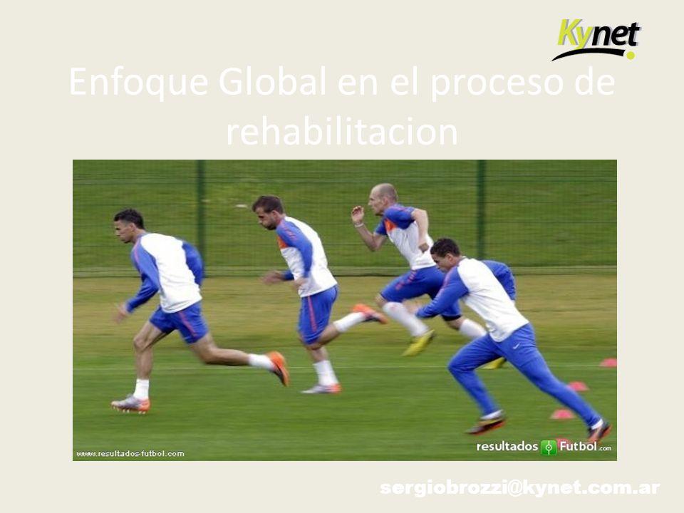 Enfoque Global en el proceso de rehabilitacion sergiobrozzi@kynet.com.ar