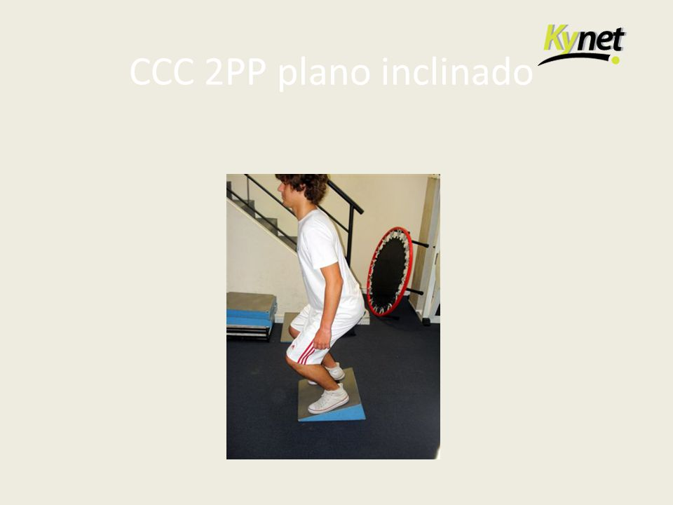 CCC 2PP plano inclinado