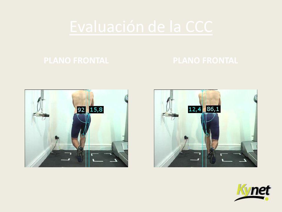 Evaluación de la CCC PLANO FRONTAL
