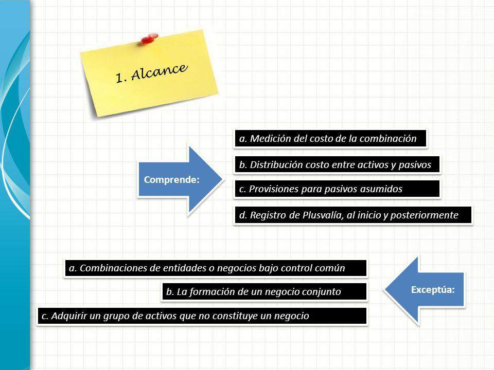 2.Definición Es la unión de entidades o negocios separados en una única entidad que informa.