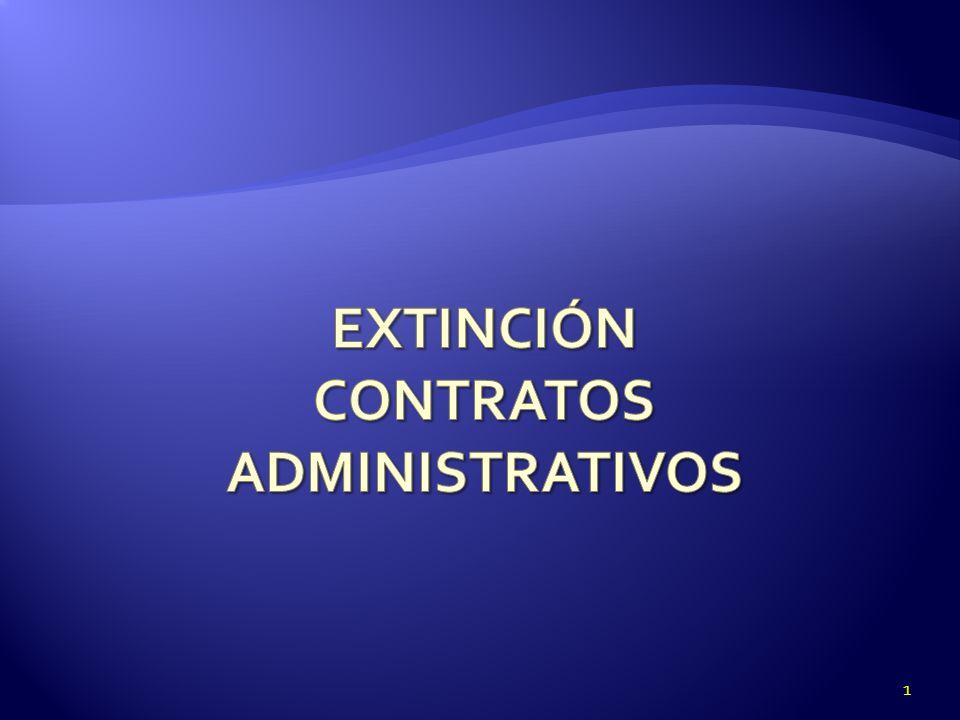 RESCISIÓN por RESCISIÓN por RENUNCIA Contratos de Atribución Concesión de Uso especial de dominio Público Unilateral Si requiere aceptación de la Administración será bilateral 12