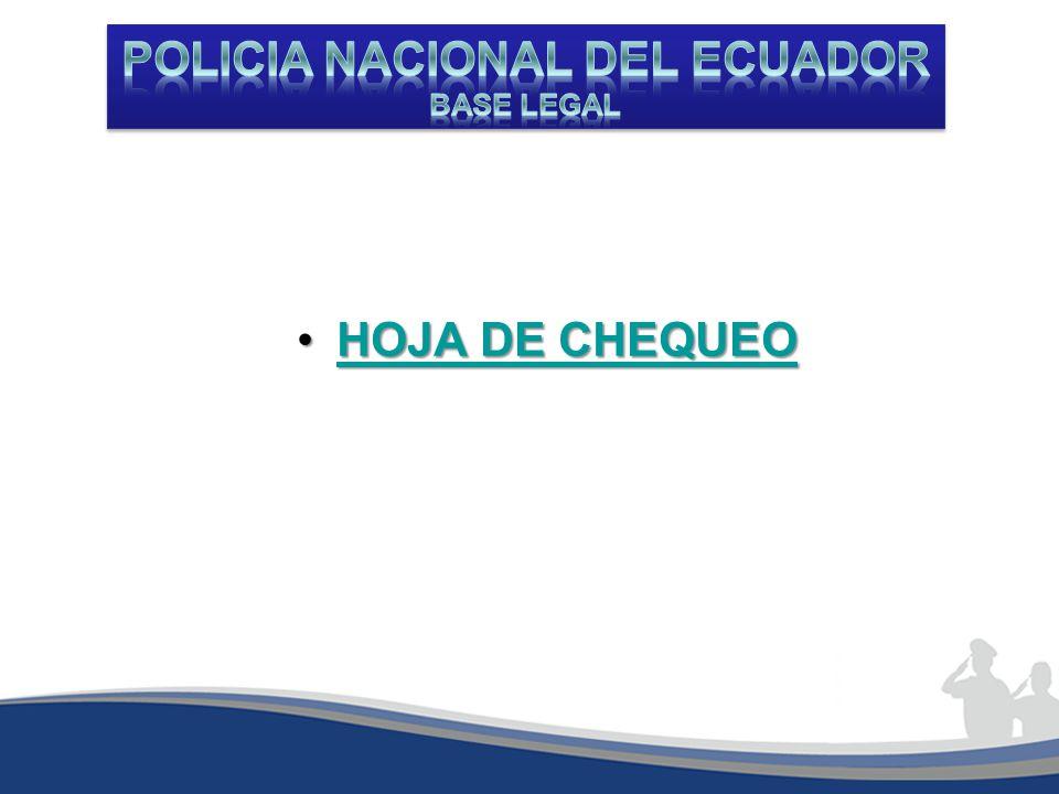 HOJA DE CHEQUEOHOJA DE CHEQUEOHOJA DE CHEQUEOHOJA DE CHEQUEO