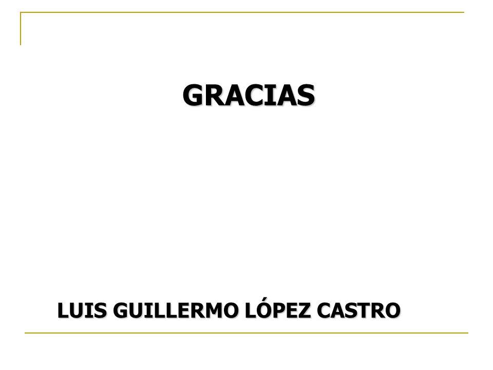 GRACIAS LUIS GUILLERMO LÓPEZ CASTRO