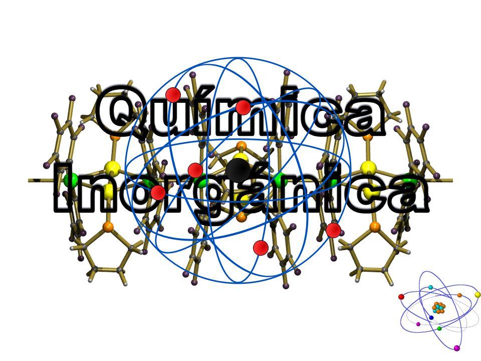 Química inorgánica La química inorgánica es la rama de la química que estudia las propiedades, estructura y reactividad de los compuestos inorgánicos.