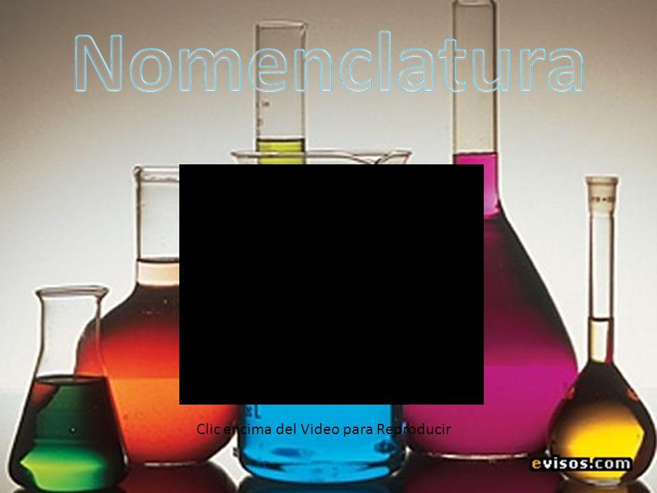 Nomenclaturas Para nombrar los compuestos químicos inorgánicos se siguen las normas de la IUPAC (unión internacional de química pura y aplicada).