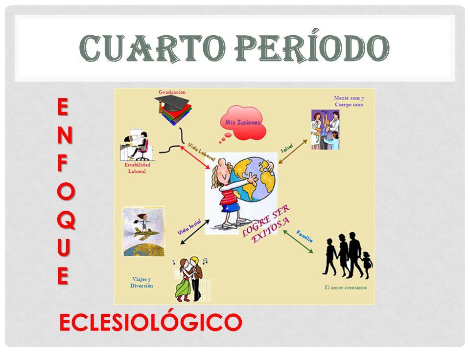 CUARTO PERÍODO ECLESIOLÓGICO ENFOQUEENFOQUEENFOQUEENFOQUE