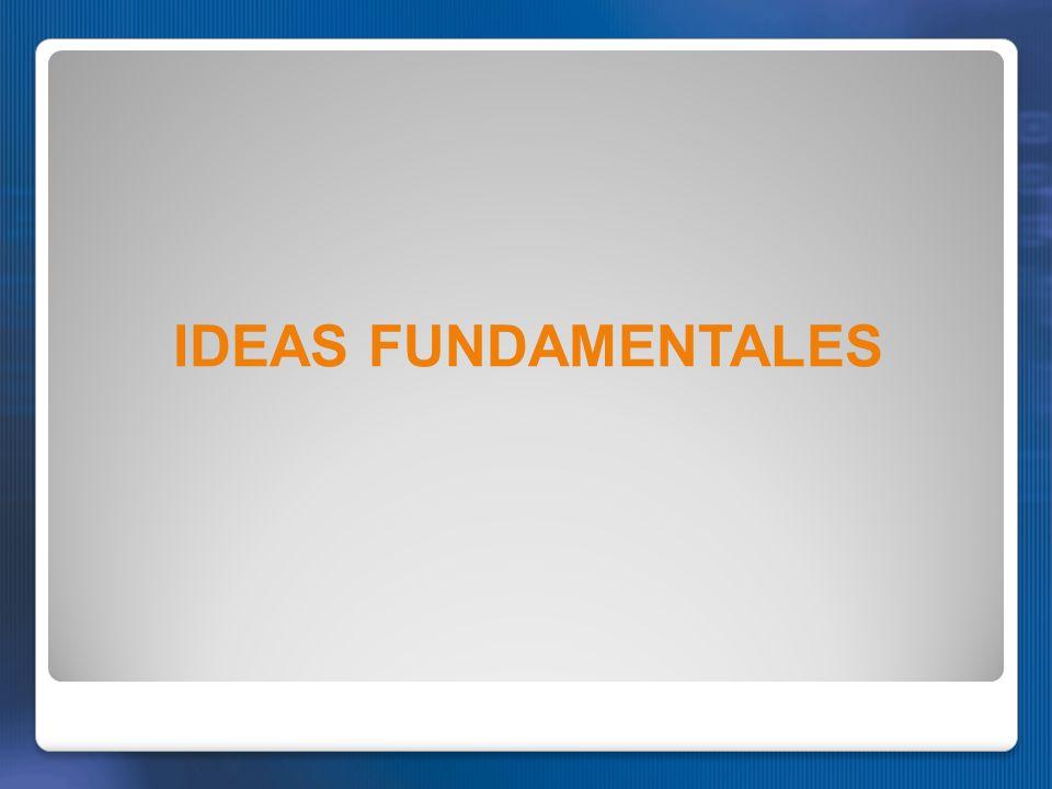 IDEAS FUNDAMENTALES