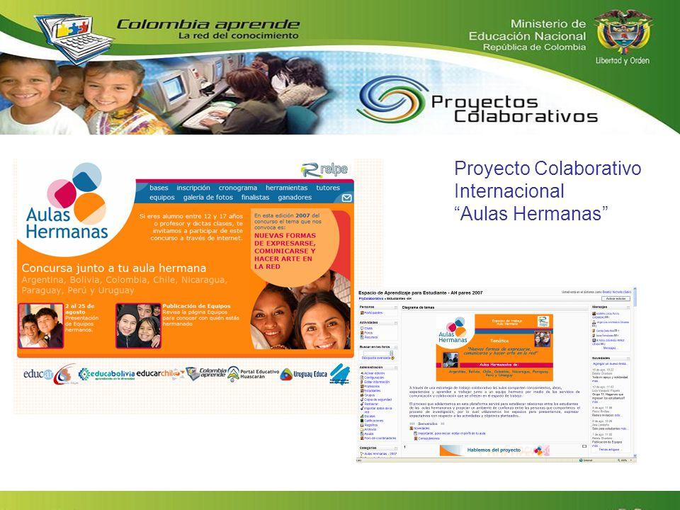 Proyecto Colaborativo Internacional Aulas Hermanas