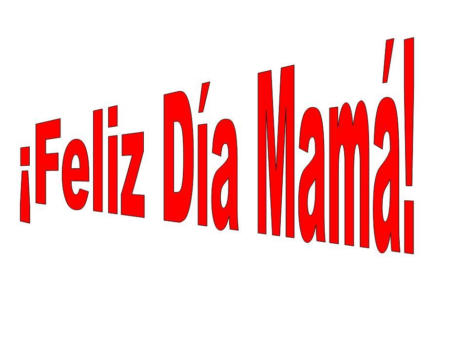 Mamá Te quiero mucho, ojala que la pases muy bien en tu día.