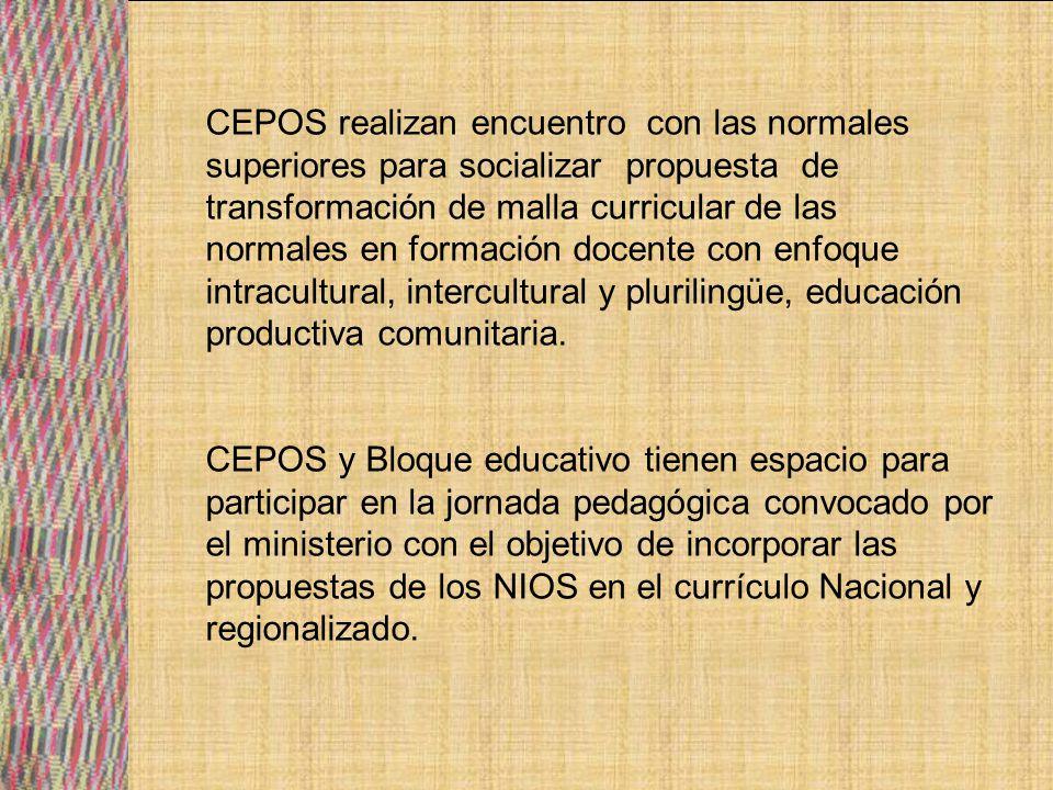 PROPUESTA Y/O SUGERENCIAS SOBRE MECANISMOS DE PARTCIAPCION SOCIAL EN EDUCACION PARA LOS PAISES DEL ABYA YALA.