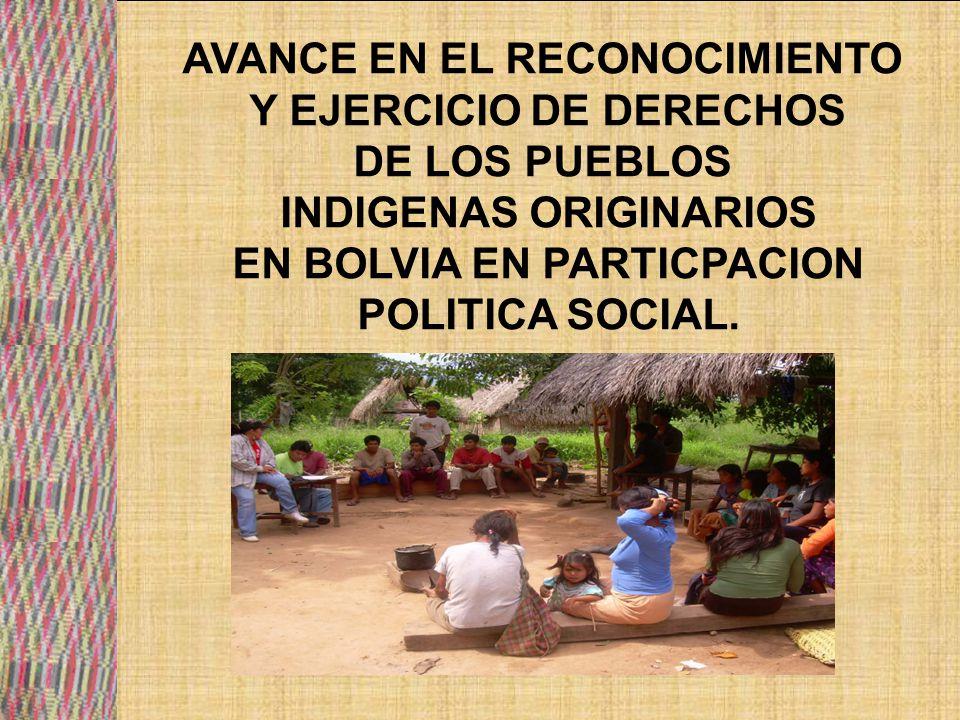 En octubre de 1987, el V Congreso de la CIDOB conforma una comisión de elaboración de su primera propuesta de ley para los pueblos indígenas del oriente boliviano a ser presentada en el siguiente congreso, en 1987 y se presenta en el año 1992 ante el parlamento.