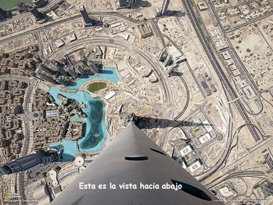 . Dubai. Vista desde el rascacielos