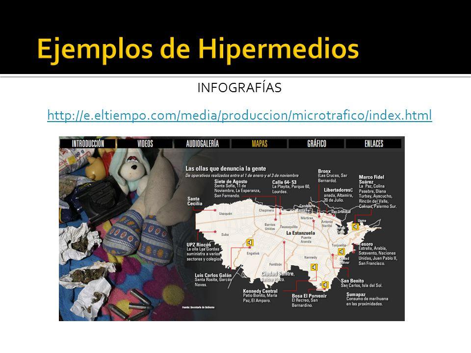INFOGRAFÍAS http://e.eltiempo.com/media/produccion/microtrafico/index.html