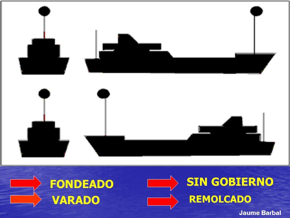 SIN GOBIERNO REMOLCADO VARADO FONDEADO Jaume Barbal