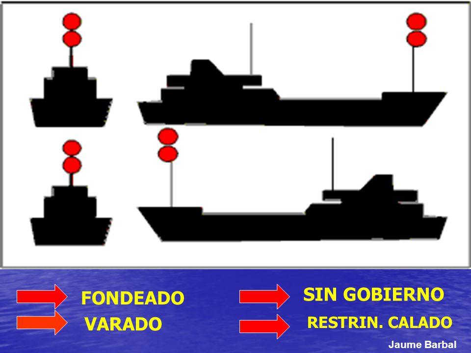 SIN GOBIERNO RESTRIN. CALADO VARADO FONDEADO Jaume Barbal
