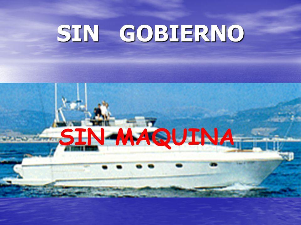 SIN GOBIERNO SIN MAQUINA
