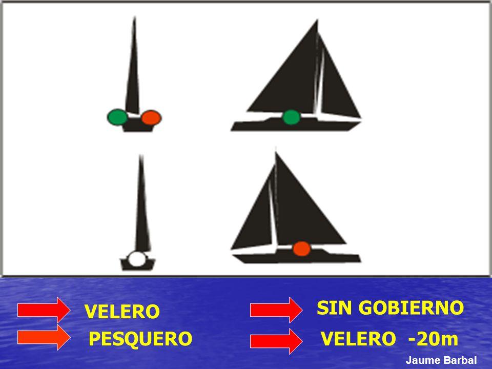 SIN GOBIERNO VELERO -20mPESQUERO VELERO Jaume Barbal