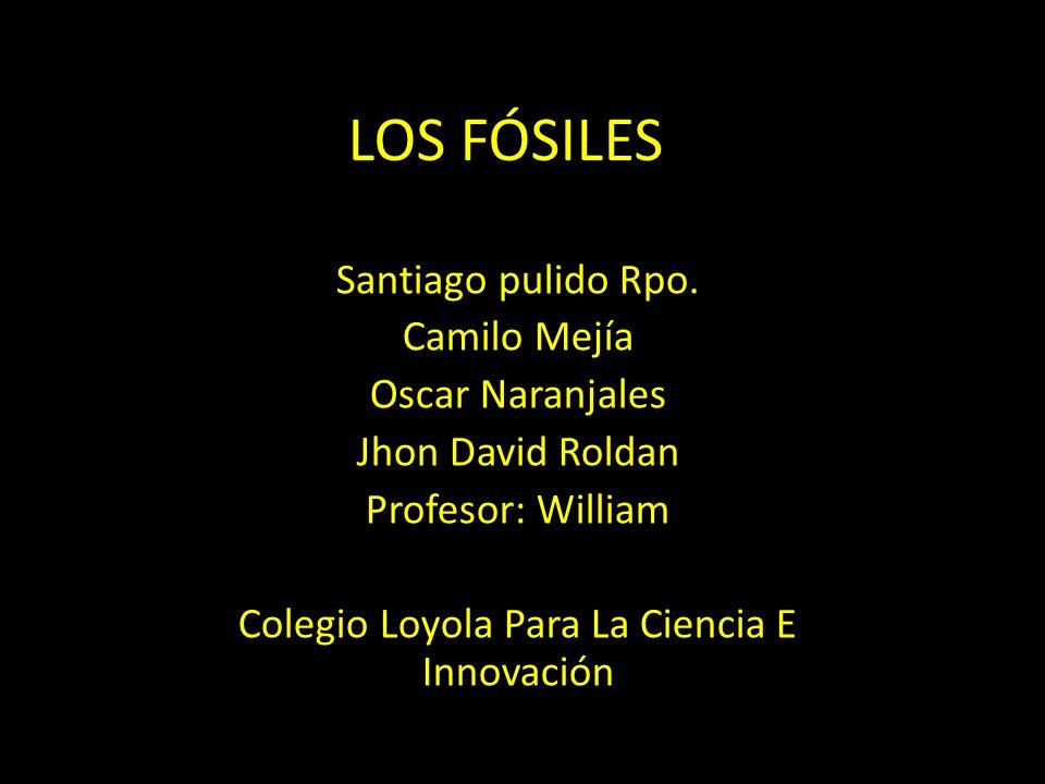 LOS FÓSILES Santiago pulido Rpo.