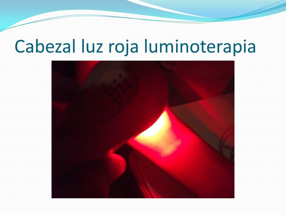 Cabezal luz roja 640nm