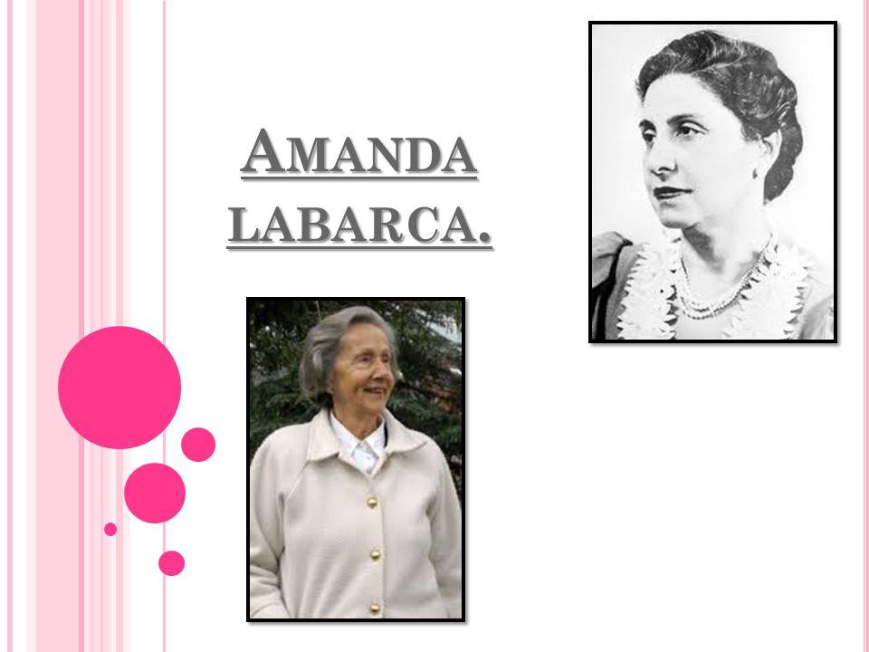 A MANDA LABARCA.