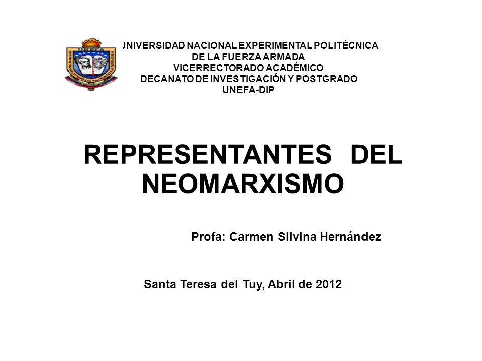 UNIVERSIDAD NACIONAL EXPERIMENTAL POLITÉCNICA DE LA FUERZA ARMADA VICERRECTORADO ACADÉMICO DECANATO DE INVESTIGACIÓN Y POSTGRADO UNEFA-DIP REPRESENTAN