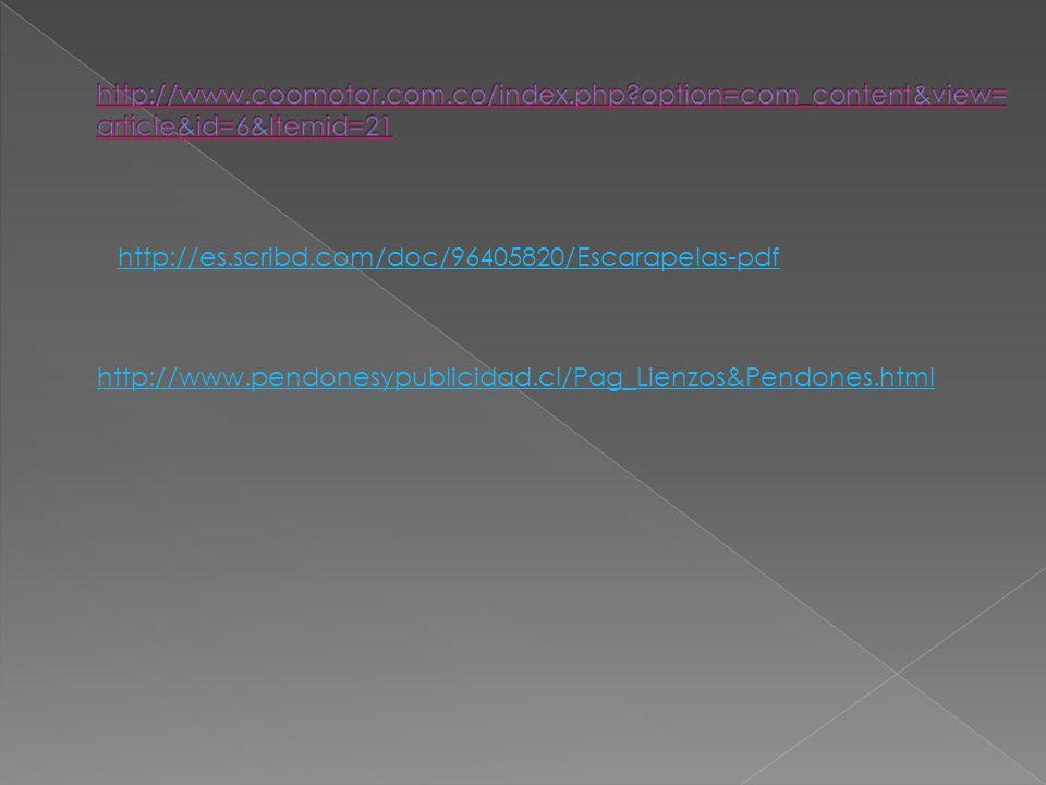 http://es.scribd.com/doc/96405820/Escarapelas-pdf http://www.pendonesypublicidad.cl/Pag_Lienzos&Pendones.html