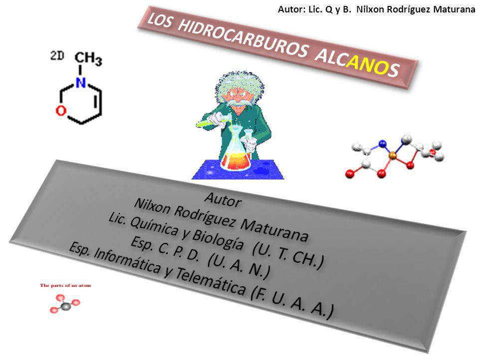 A partir del butano los alcanos presentan el fenómeno de la isomería.