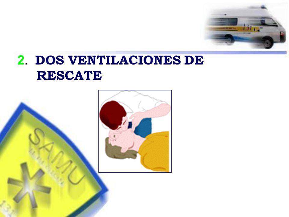 2. DOS VENTILACIONES DE RESCATE