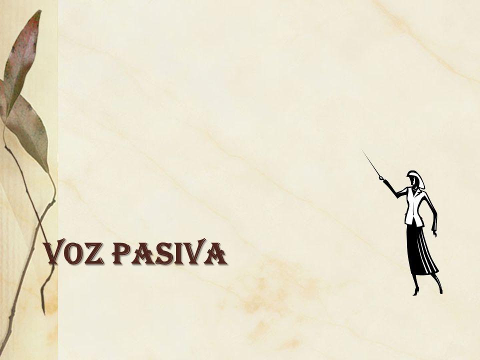 VOZ PASIVA
