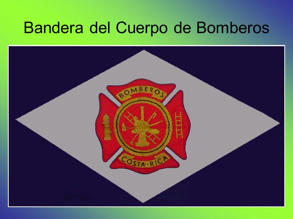 Bandera del Cuerpo de Bomberos