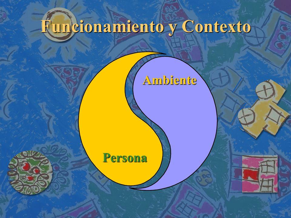 Funcionamiento y Contexto Persona Ambiente